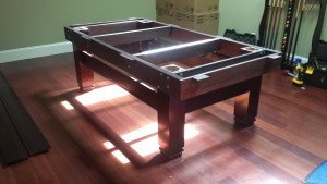 Correctly performing pool table installations, Pullman Washington